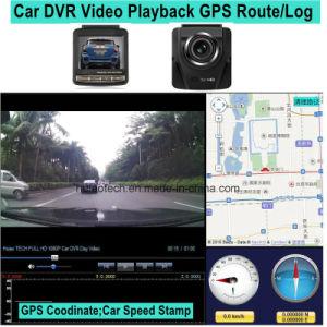 2016 New GPS Tracking Logger Car Dash Camera with GPS Receiver Antenna, Full HD1080p Car Digital Video Recorder, 5.0mega Car Black Box Camera DVR-2416 pictures & photos