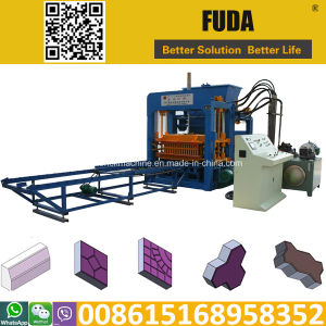 Qt10-15 Automatic Cement Block Moulding Machine in Algeria pictures & photos