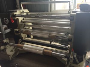 Non Woven Fabric Roll Slitting and Rewinding Machine (DC-QFJ) pictures & photos
