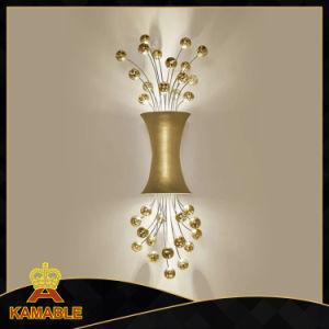 Decorative Modern Design Crystal Metal Wall Lamp (KA9004) pictures & photos