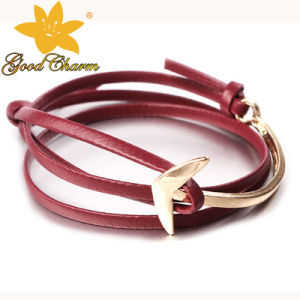 LTB-16122702A Stainless Steel Jewelry Fashion 3 Lines Curb Bracelet pictures & photos