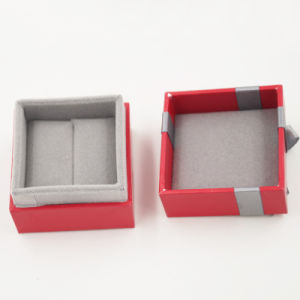 Well-Received Paper Gift Jewelry Box with Ribbon Bow (J86-AX) pictures & photos