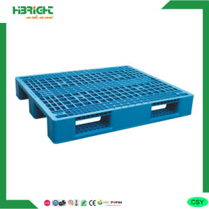 Plastic Pallet with 3 Horizontal Bars pictures & photos