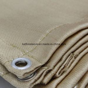 High Temeprature Uncoated Heat Cleaned Fiberglass Fire Safety Welding Blanket pictures & photos