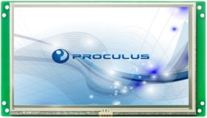 7′′ 1024*600 High Resolution TFT LCD with Resistive Touch Screen pictures & photos