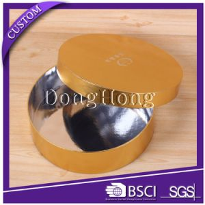 Custom Cylinder Box Round Flower Cardbaord Paper Packaging Box pictures & photos