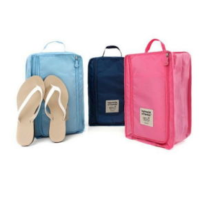 Creativity Can Be Customized Logo Folding Hand Carry Travel Shoes Bag Waterproof Shoes Bag Storage Bag pictures & photos