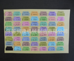 Label Hydraulic Die Cutting Machine/Non Cohesive Gel Die Cutting Press pictures & photos