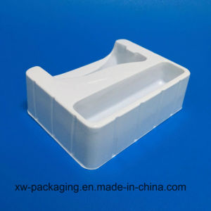 White Color Plastic Packaging Tray pictures & photos