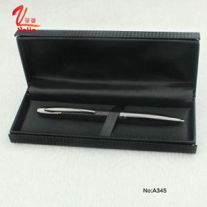 Fashion White Metal Ball Pen with Senior Gift Box pictures & photos