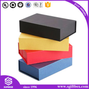 Magnetic Luxury Clothing Tie Bow Knot Packaging Perper Gift Box pictures & photos