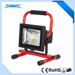 20W Rechargeable LED Work Lamp with Ce RoHS Certificates pictures & photos