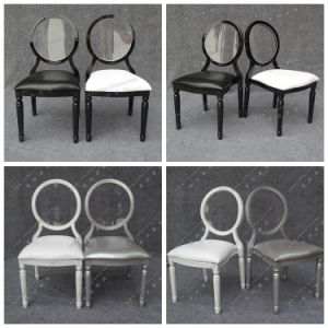 2017 New Style Wholesale Gold and White Stacking Wedding Chair for Event and Banquet (YC-A396) pictures & photos