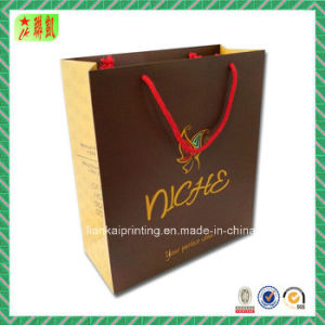 Art Paper Shopping Handbag with Custome Printed pictures & photos