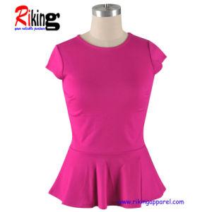Fashion Women′s T-Shirts (RKT1314)
