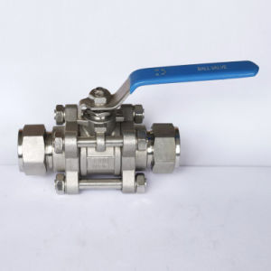 Ball Valve, 3 Piece Compression Ball Valve