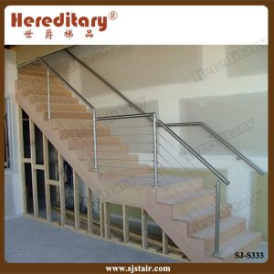 Stainless Steel Cable Railing for Staircase (SJ-S333) pictures & photos