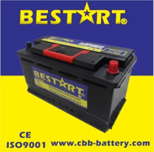 12V96ah Premium Quality Bestart Mf Vehicle Battery DIN 59615-Mf pictures & photos