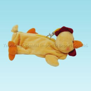 Plush Chicken Pencil Case with Soft Material pictures & photos