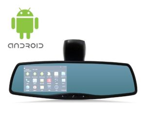 Android System 4.3inch Rearview Mirror Car DVR Sp-708 with WiFi/Bluetooth