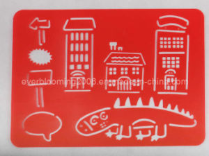 Alphabet Plastic Drawing Stencils, Sketchpad, Painting Template pictures & photos