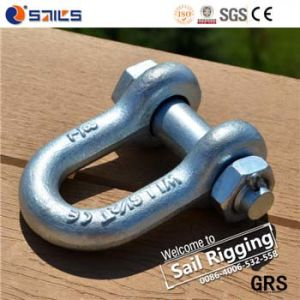 Us Type Carbon Steel Drop Forged Shackle pictures & photos