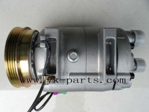 Air AC Compressor (DCW17B) for Audi A4 1.6 pictures & photos