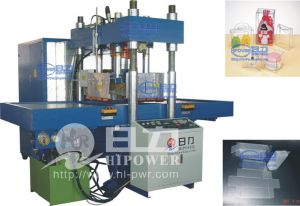 High Frequency Square Box Folding Machine