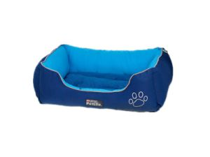 Warm Lounge Sleeper Blue Dog Bed pictures & photos