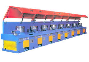 Straight Line Type Steel Wire Drawing Machine pictures & photos