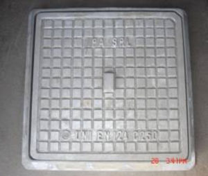 Square Ductile Iron Manhole Cover with Frame, En124 C250 pictures & photos