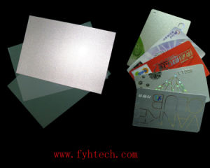 Silver Instant PVC Card Material