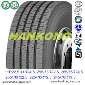 295/75r22.5, 11r24.5 Chinese Tire Steer Drive Trailer Tire Radial Truck Tire pictures & photos