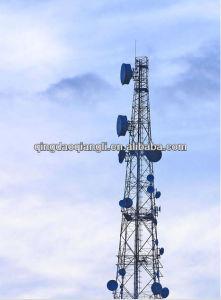 Steel Telecommunication Lattice Antenna Tower