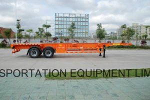 40feet 2 Axles Skeleton Container Trailer pictures & photos