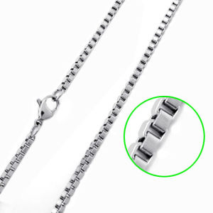 2012 Plain Stainless Steel Chain Necklace (TPSC001)