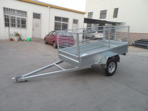 Hot Dipped Galvanized Australian Cage Box Trailer pictures & photos