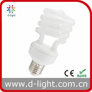 20W Half Spiral Compact Fluorescent Lamp pictures & photos