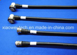 "1/4"" Superflexible Jumper Coaxial Cable Assemblies pictures & photos"