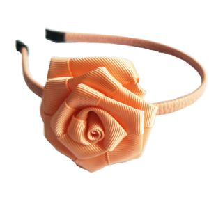 Grosgrain Ribbon with Rose Headband pictures & photos