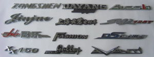 Customized ABS Plastic Auto Car Sticker, Emblem, Auto Logo (HX-DI-2) pictures & photos