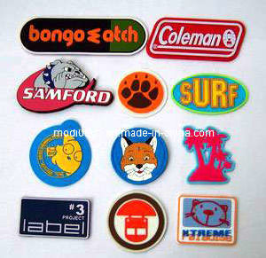 Garment Accessary-Rubber Patch (KS-RL0523) Custom 3D Silicone Raised Rubber Custom Patch pictures & photos
