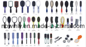 Plastic Mirror Hair Brushes pictures & photos