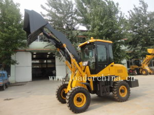 1.0t Small Wheel Loader/ Forklift Loader