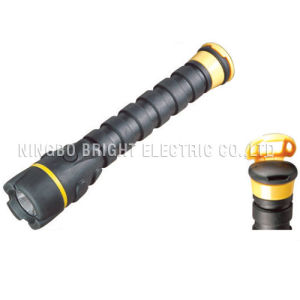 Rubber LED Flashlight (ZF6845)