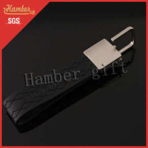 Black Leather Keyholder