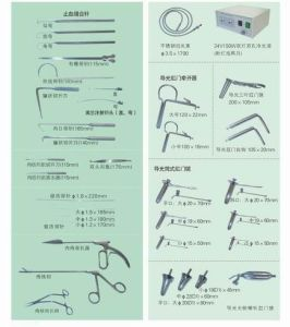 2016 New Anorectal Examining & Surgical Kits (38PCS) pictures & photos