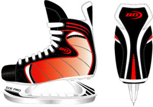 Ice Hockey Skate Red