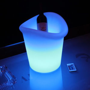 OEM Luminous Plastic LED Ice Bucket