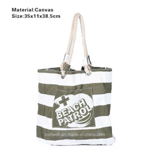 Eco Friendly Canvas Deluxe Cotton Canvas Bag pictures & photos